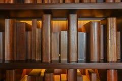 Livros de madeira Fotografia de Stock Royalty Free