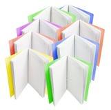 Livros de nota Fotografia de Stock Royalty Free
