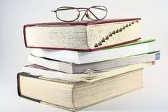 Livros de referência fotografia de stock