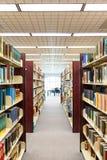 Livros de texto e instrução - corredor Fotografia de Stock Royalty Free