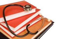 Livros de texto médicos Imagens de Stock