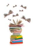 Livros de vôo Foto de Stock Royalty Free