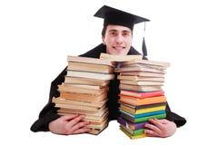 Livros do Academician imagem de stock royalty free