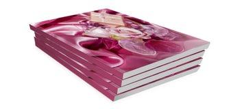 Livros do presente para o dia de são valentim Fotografia de Stock