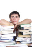 Livros do treinamento Fotos de Stock Royalty Free