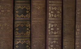 Livros do vintage Fotos de Stock Royalty Free