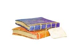 Livros do vintage, isolados Foto de Stock