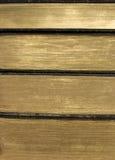 Livros dourados Imagem de Stock Royalty Free