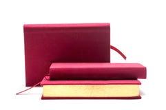 3 livros dourados Fotos de Stock Royalty Free