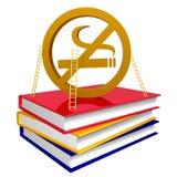 O que acontece à pessoa quando deixado fumando um tempero