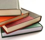 Livros duros da tampa Fotografia de Stock