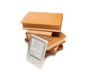 Livros e leitor Fotos de Stock