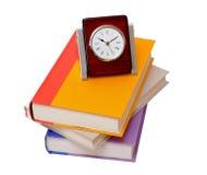 Livros e pulso de disparo Imagem de Stock Royalty Free