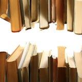 Livros em uma fileira Foto de Stock