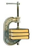 Livros em uma informação dearquivística Foto de Stock Royalty Free