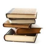 Livros empilhados Foto de Stock