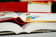 Livros empilhados Fotografia de Stock Royalty Free