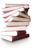 Livros empilhados acima Imagens de Stock Royalty Free