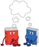 Livros felizes Foto de Stock