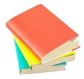 Livros isolados Fotografia de Stock Royalty Free