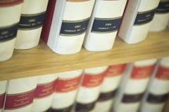 Livros legais da empresa de advocacia fotos de stock royalty free