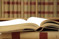 Livros na biblioteca Fotografia de Stock
