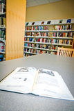 Livros na biblioteca Fotos de Stock Royalty Free