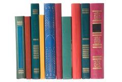 Livros no branco Imagem de Stock Royalty Free