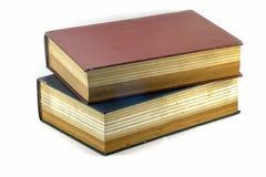 Livros ou a Bíblia velha de texto Imagem de Stock