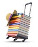 Livros para o curso Foto de Stock Royalty Free