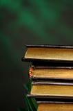 Livros pretos pequenos Foto de Stock Royalty Free