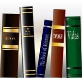 Livros religiosos ilustração do vetor