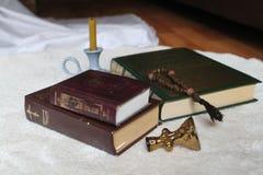 Livros sagrados Foto de Stock