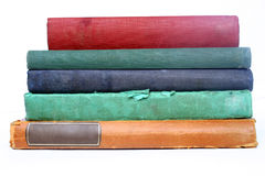 Livros velhos imagens de stock