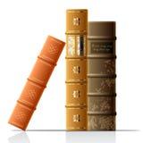 Livros velhos do vetor Foto de Stock Royalty Free