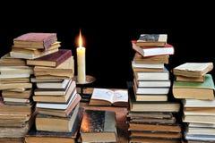 Livros velhos três Imagens de Stock Royalty Free