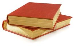 Livros vermelhos Fotografia de Stock Royalty Free