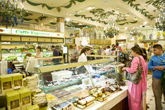 livsmedelsbutik Royaltyfria Foton