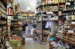 Livsmedelsbutik Arkivfoton