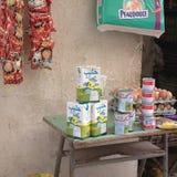 Livsmedelsbutik i Libyen Arkivfoto