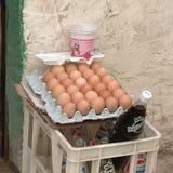 Livsmedelsbutik i Libyen Arkivfoton