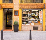 Livsmedelsbutik i Valencia, Spanien Royaltyfria Foton