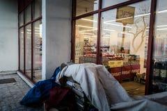 Livsmedelsbutik Windows i Turkiet Fotografering för Bildbyråer