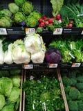 Livsmedelsbutikjordbruksprodukter royaltyfri fotografi