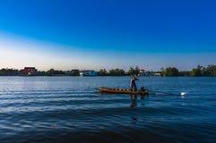 Livsstil av det thai landet Royaltyfria Bilder