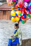 Livsstil av lilla flickan fotografering för bildbyråer