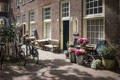 Livsstil i Amsterdam Royaltyfri Bild