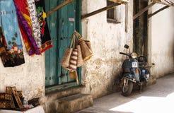 Livsstil i Zanzibar Royaltyfri Fotografi