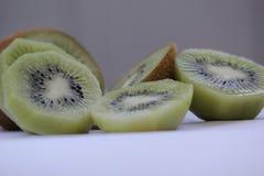1 livstid fortfarande Fruktskörd saftig kiwi Arkivbilder