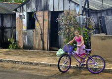 Livstid i Favela Royaltyfri Fotografi
